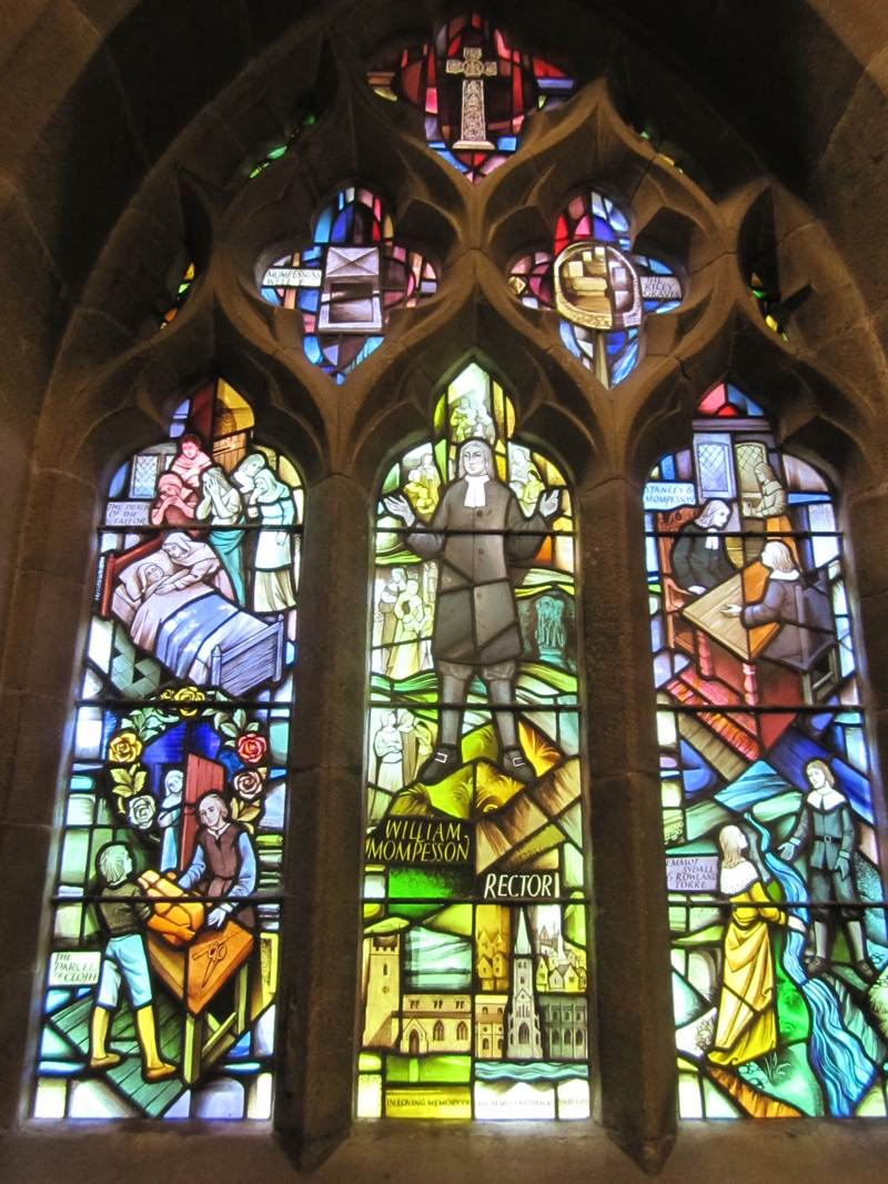 The Plague Window in the Church