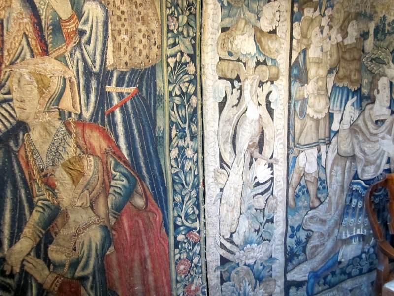 Eyam Hall Tapestry Room.