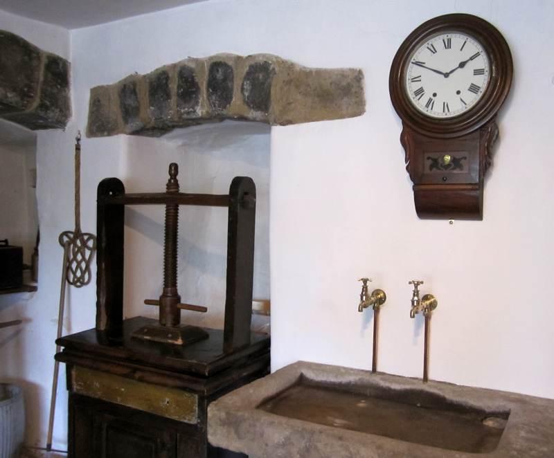 Eyam Hall Old Kitchen