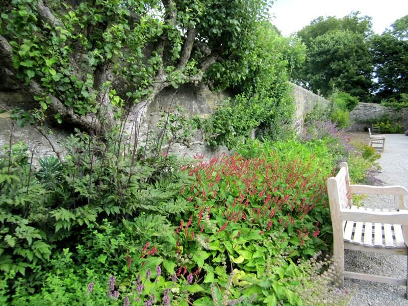 Eyam Hall Walled Garden