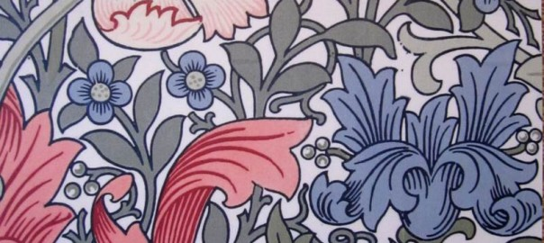 William Morris Wallpaper Anne Clark Handmade