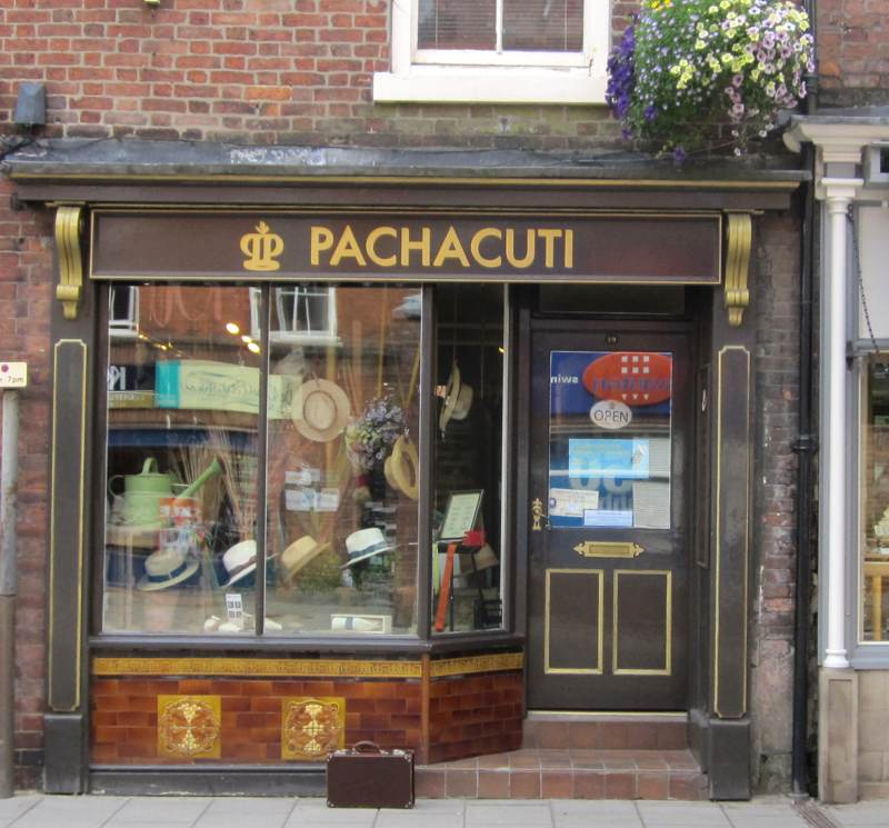 Pachacuti Shop in Ashbourne Derbyshire.