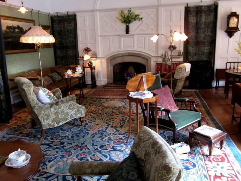Rose Morris >> William Morris Designs and Standen House – Anne Clark Handmade