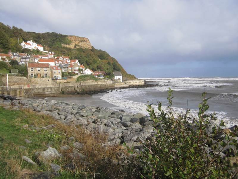 Runswick Bay north of Whitby.