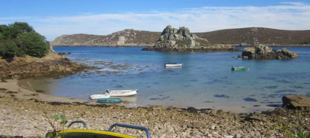 Holiday on the Scilly Islands.