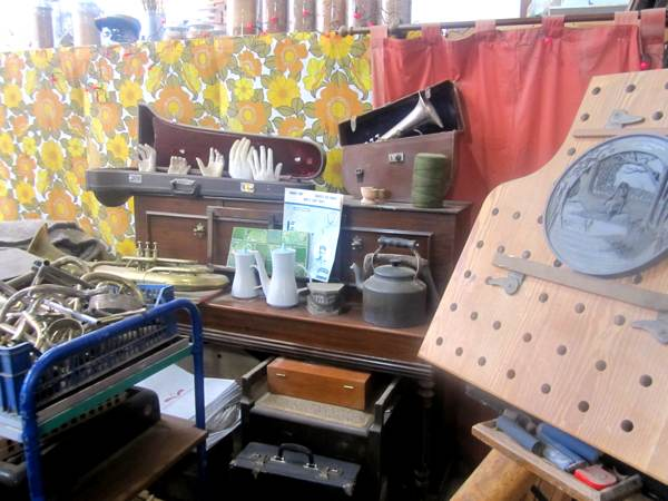 Phil Neal's Studio at the harley Gallery