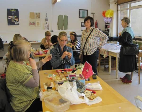 workshop at harley Gallery