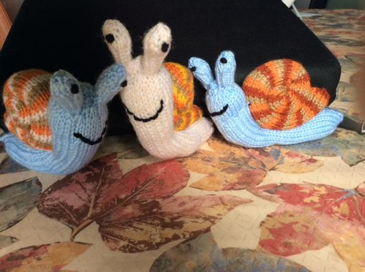 snails for the woollen woods