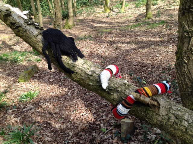 snake and bug in the woollen woods
