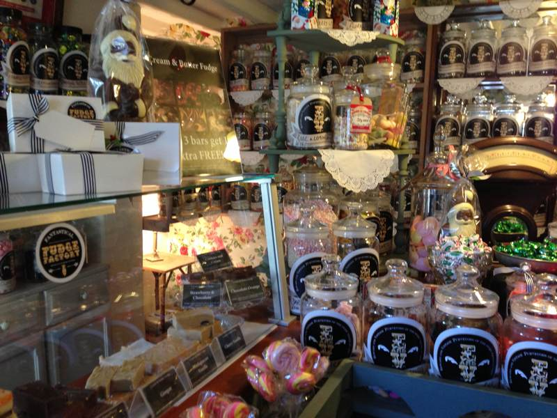 sweet shop Tissington village