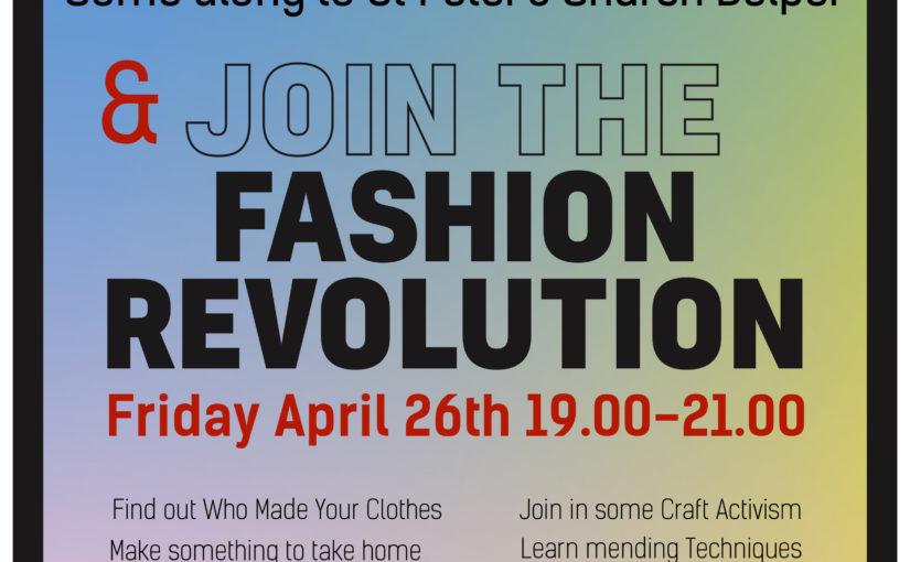 Fashion Revolution Belper